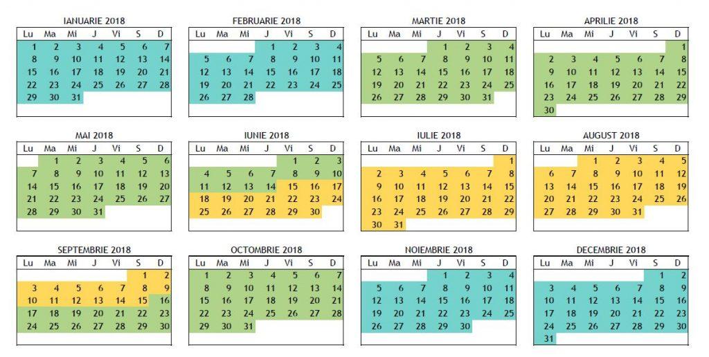 poza calendar rulote